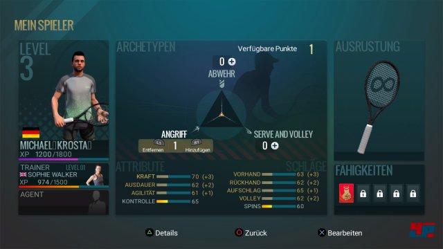 Screenshot - Tennis World Tour (PS4)