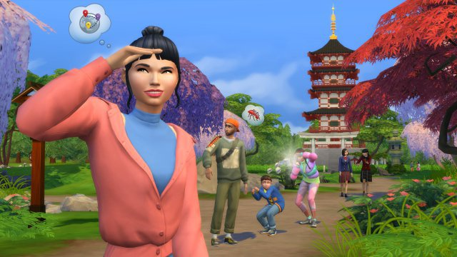 Screenshot - Die Sims 4 Ab ins Schneeparadies (PC, PS4, One)