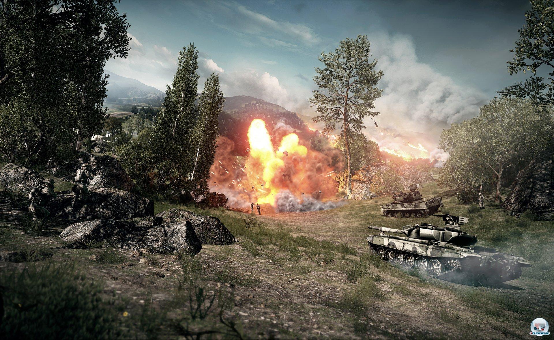 Battlefield 3 wird laut! Und es wird geht viel zu Bruch gehen.
