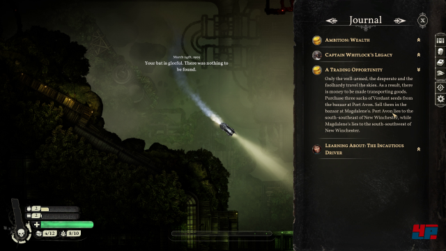 Screenshot - Sunless Skies (PC)
