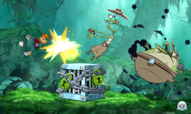 Screenshot - Rayman Origins (3DS) 2367087