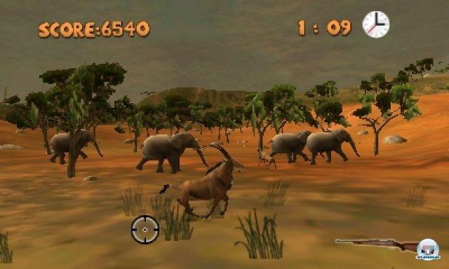 Screenshot - Outdoors Unleashed: Africa 3D (3DS)