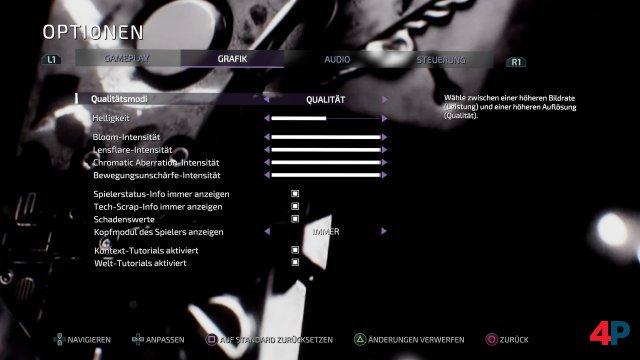 Auf allen Systemen kann man zwischen Bildqualität und Performance als Grafikmodus wählen.