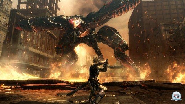 In den Bosskämpfen wird Raiden bis an seine Grenzen gebracht.
