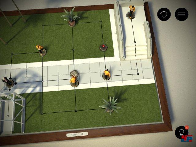 Screenshot - Hitman Go (iPad) 92481439