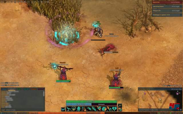 Screenshot - The Exiled (Linux)