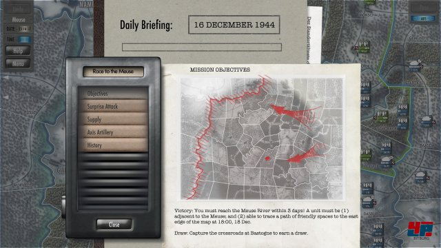 Screenshot - Battle of the Bulge (PC)