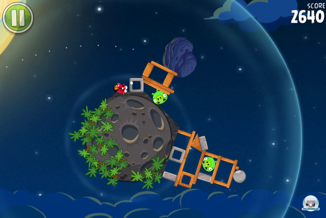 Screenshot - Angry Birds Space (iPhone)