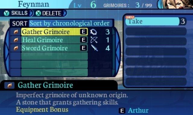 Das Remake bietet etwas mehr Komfort hinsichtlich der Steuerung. Nur das Mixen der Grimoire-Steine ist etwas unübersichtlich.