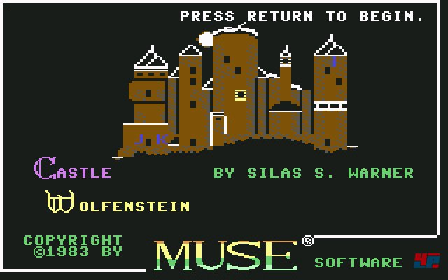 Screenshot - Castle Wolfenstein (PC)