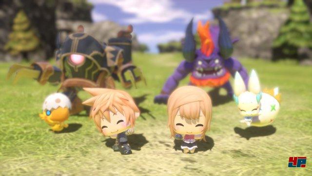 Screenshot - World of Final Fantasy (PlayStation4) 92507741