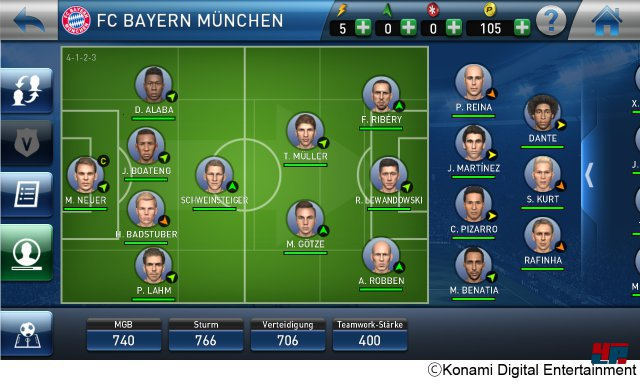 Screenshot - PES Club Manager (Android) 92506123