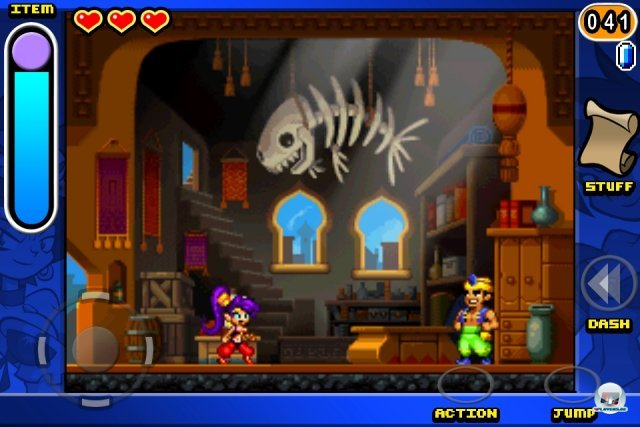 Screenshot - Shantae: Risky's Revenge (iPhone) 2283847