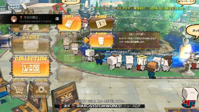 Screenshot - Guilty Gear Xrd -Revelator- (PlayStation3) 92520101
