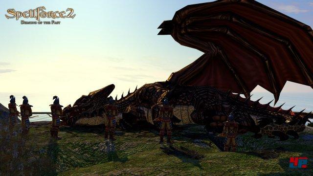 Screenshot - SpellForce 2: Demons of the Past (PC)