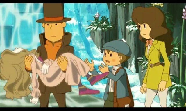 Screenshot - Professor Layton and the Azran Legacy (3DS) 92466001