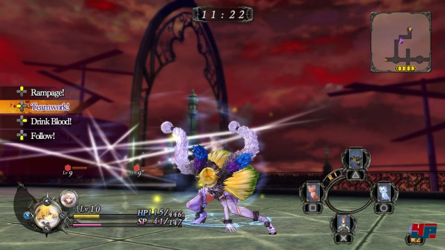 Screenshot - Nights of Azure (PlayStation3) 92521081