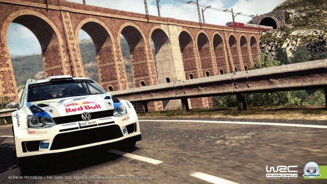 Die Brücke kenn ich doch von irgendwoher?! Ahhh, WRC 3...und WRC 2.