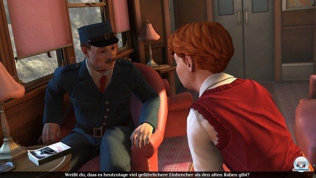 Der aufgeweckte Matty schließt schnell Freundschaft mit Zellner und hilft ihm mit nützlichen Gegenständen wie einer Zwille.