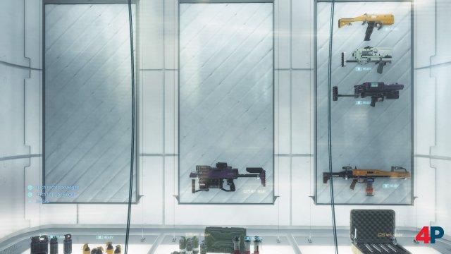 Mit der Zeit wächst das Arsenal an Ausrüstung und Waffen.