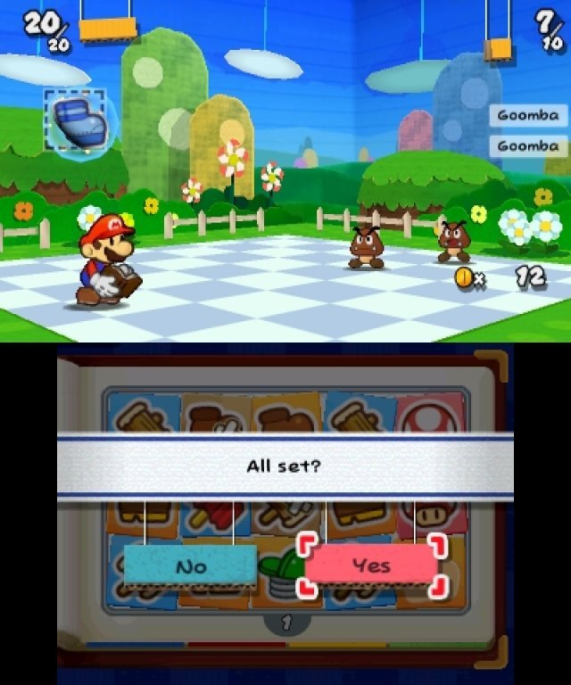 Screenshot - Paper Mario: Sticker Star (3DS)