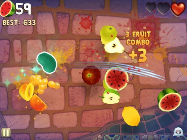 Screenshot - Fruit Ninja: Puss in Boots (iPad)