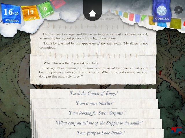 Screenshot - Sorcery! - Teil 3 (iPad) 92503569