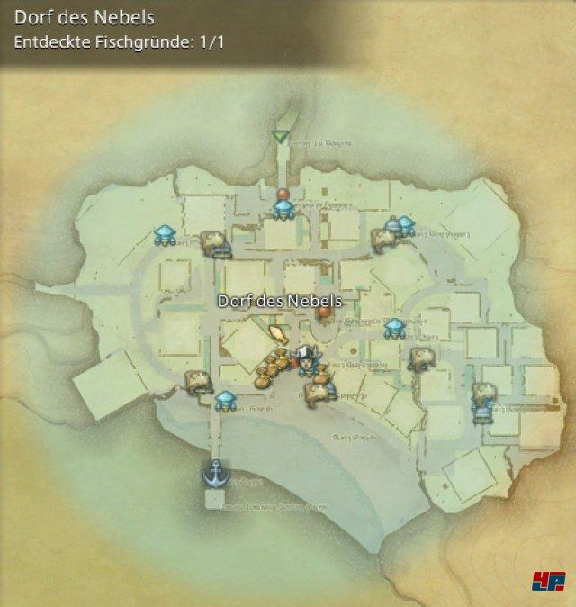 Final Fantasy XIV Online: A Realm Reborn - Fischgründe: La Noscea, Dorf des Nebels
