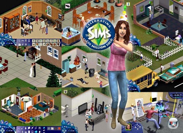 2000 gipfelte all die Simserei in Kombination mit Will Wrights höchstpersönlichen Erfahrungen mit dem Verlust und Wiederaufbau von Hab und Gut (er verlor sein Haus 1991 in einem Feuer, musste mit seiner Familie umziehen und von vorn beginnen) in -der- Simulation schlechthin - der Simulation von Leben! Grundsätzlich ist Die Sims nicht sehr viel mehr als das, was man auf den Privatsendern mittlerweile zuverlässig ab 14 Uhr zu sehen bekommt: Das langweilige Leben anderer Menschen. Nur sind hier die Menschen virtuell, und man kann ihr belangloses Dasein gründlich durcheinander wirbeln. Mit dem Ergebnis, dass hier der Grundstein für eine Serie gelegt wurde, von der mittlerweile mehr als 100 Millionen Stück verkauft wurden. 100 Millionen! Für diese Zahl in Euro muss der typische 4Players-Redakteur fast zwei Monate arbeiten! 2055558