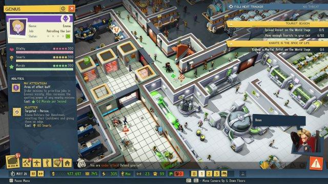 Screenshot - Evil Genius 2: World Domination (PS4, PlayStation5, One, XboxSeriesX)