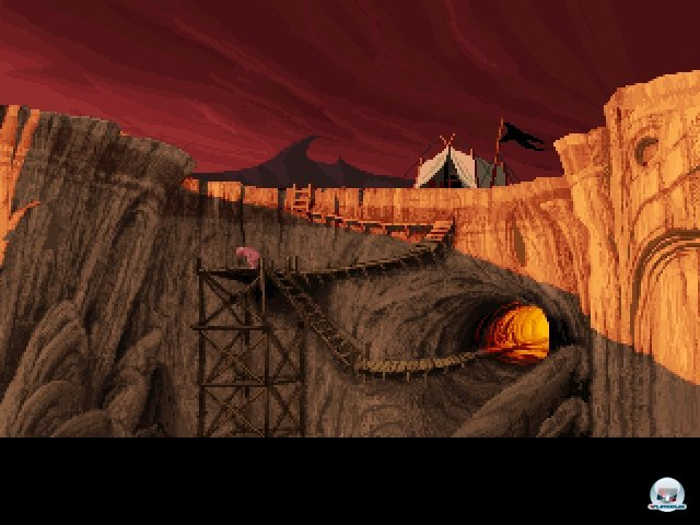 Screenshot - Lands of Lore: The Throne of Chaos (PC)