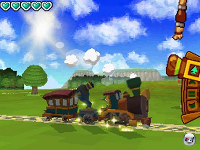 <b>The Legend of Zelda: Spirit Tracks:</b><br><br>Link geht endlich seinem ursprünglich erlernten Beruf des Lokomotivführers nach. Ein historisches Ereignis, das sich niemand entgehen lassen sollte! 1986068