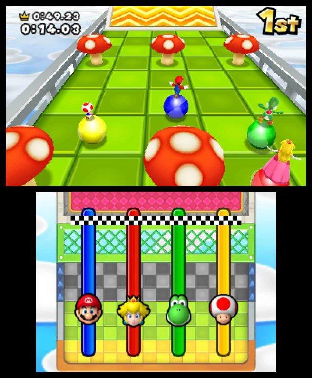 In den über 80 Minispielen kommen auch neben dem Touchscreen auch Neigungssensoren, Kamera und Mikrofon zum Einsatz.