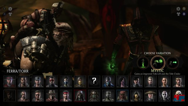 Es wartet eine interessanter Auswahl bekannter und neuer Charaktere.