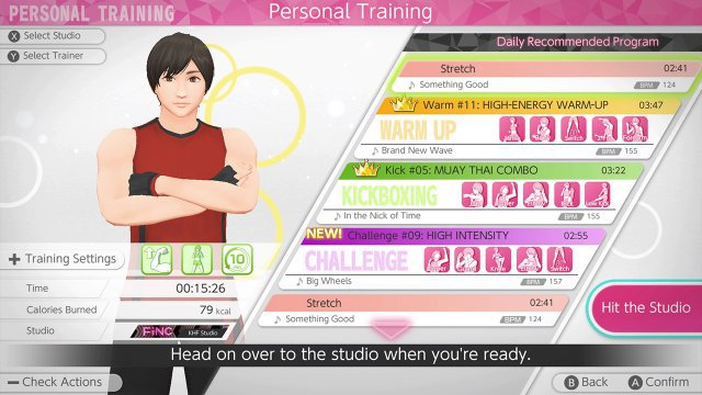 Screenshot - Knockout Home Fitness (Switch)