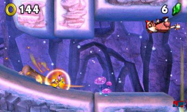 Screenshot - Sonic Boom: Feuer & Eis (3DS)