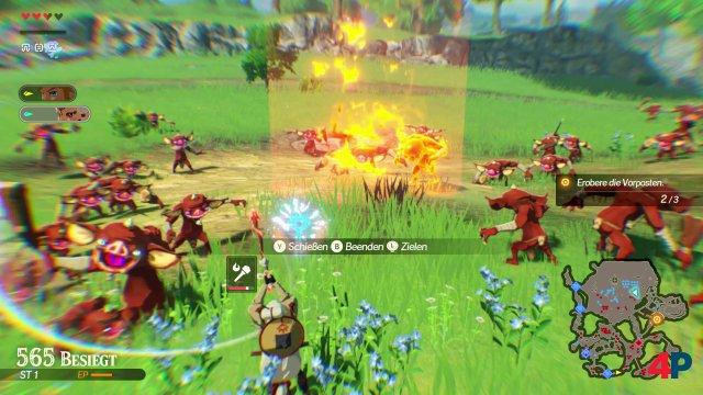 Screenshot - Hyrule Warriors: Zeit der Verheerung (Switch) 92629154