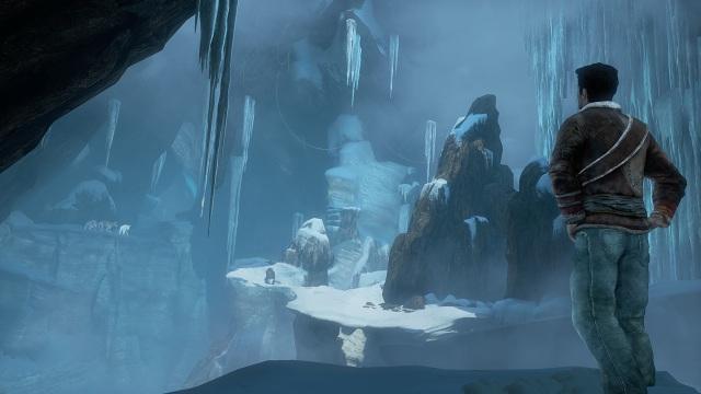 Uncharted 2 <br><br> Abenteurer Nathan Drake reist in Uncharted 2 zwar erneut rund um den Globus, doch die Abschnitte im eiskalten Tibet haben es und besonders angetan: Nie gab es in einem Videospiel schöneren Schnee zu bewundern als hier - was für eine Pulverpracht!  2180852