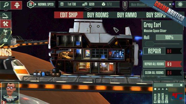 Screenshot - Cosmonautica (Android)