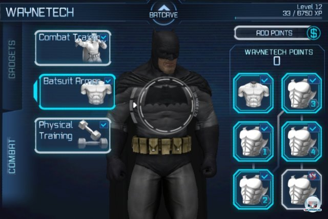 Screenshot - Batman: Arkham City Lockdown (iPhone) 2298572