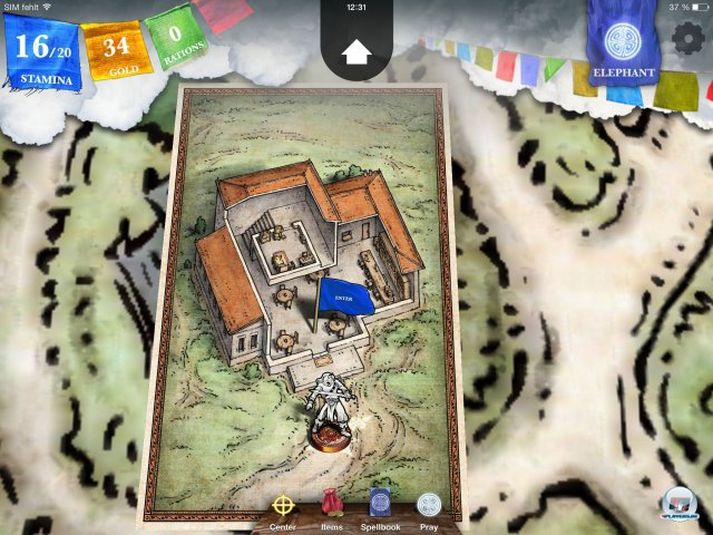 Screenshot - Sorcery! - Teil 2 (iPad) 92471921