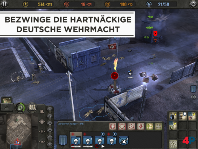 Screenshot - Company of Heroes (iPad)