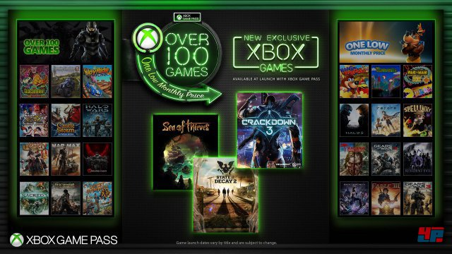 Screenshot - Xbox Game Pass (One)