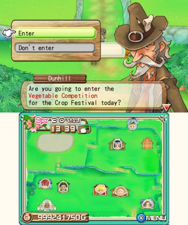 Screenshot - Harvest Moon 3D: A New Beginning (3DS) 92469878