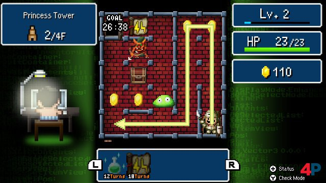 Screenshot - Dandy Dungeon - Legend of Brave Yamada (Switch)