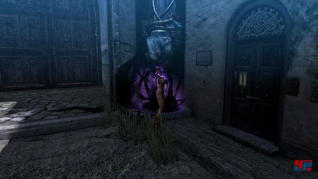 Die Hexenzeit wird auch immer wieder für Umgebungsrätsel genutzt.