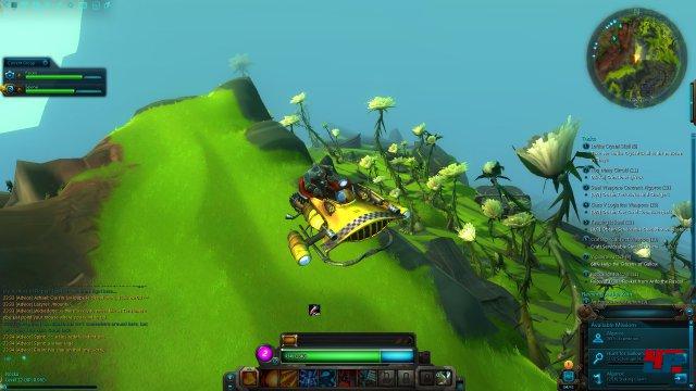 Nexus bietet einen kunterbunten Abenteuer-Spielplatz mit einem interessanten Kampfsystem.