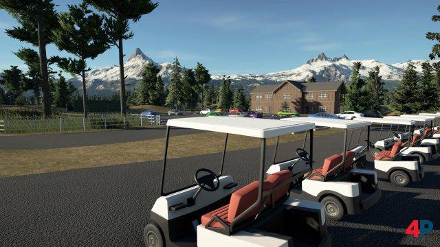 Technisch reißt PGA Tour 2K21 keine Bäume aus, stellt aber idyllische Kulissen dar.