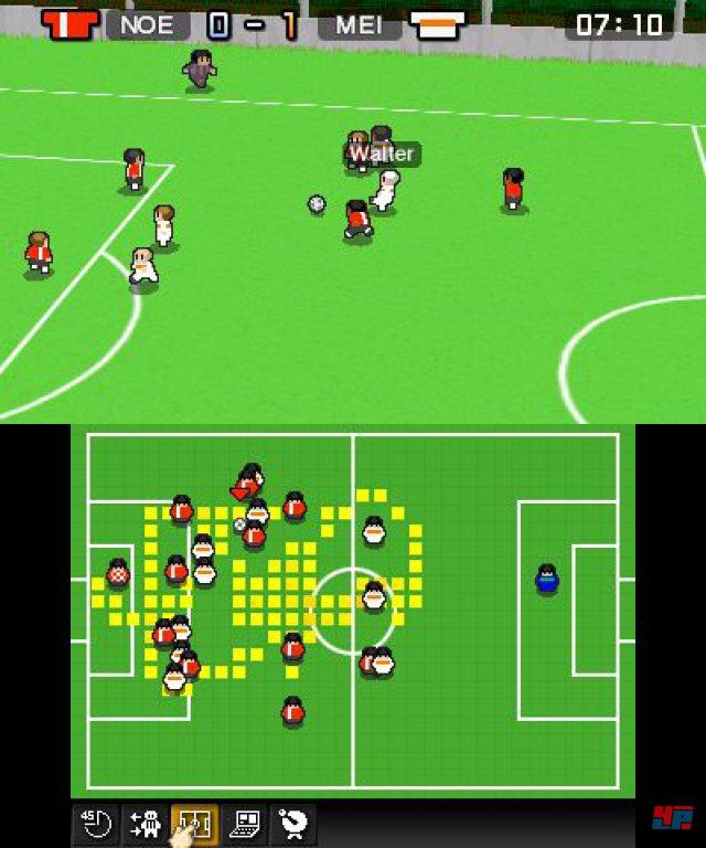 Die Match-Darstellung hat ihren Charme, doch mit dem Zwang, sich die kompletten Partien anschauen zu müssen, verfliegt der Reiz zu schnell.