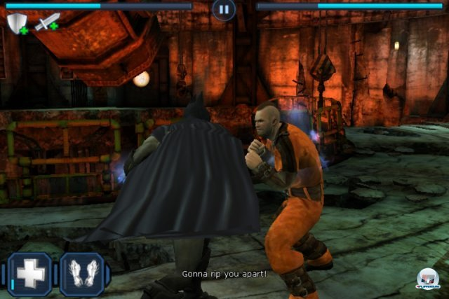 Screenshot - Batman: Arkham City Lockdown (iPhone) 2298417